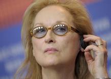 Atriz Meryl Streep, presidente do júri do Festival de Berlim. 11/02/2016    REUTERS/Stefanie Loos