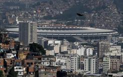 Vista do estádio do Maracanã, no Rio de Janeiro.  19/11/2015. REUTERS/Sergio Moraes