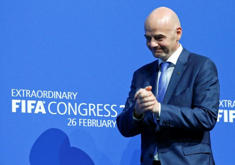 FIFA head Infantino must mend bridges, sort out finances