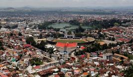 A general view shows the cityscape in Madagascar's capital Antananarivo December 19, 2013. REUTERS/Thomas Mukoya