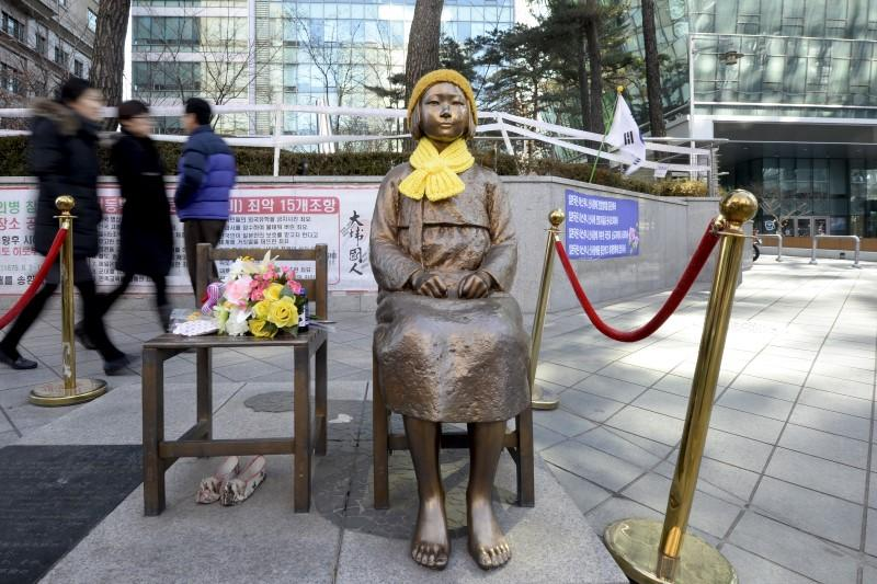 Film depicting horrors faced by comfort women for Japan army
