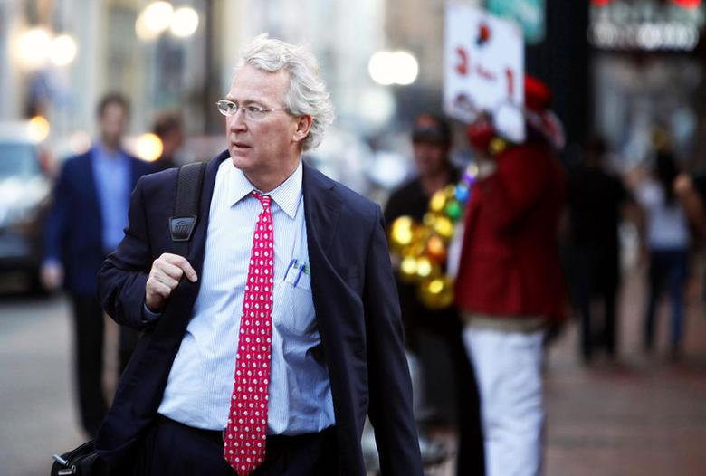 Chief Executive Officer, Chairman, and Co-founder of Chesapeake Energy Corporation Aubrey McClendon walks through the French Quarter in New Orleans, Louisiana, in this March 26, 2012 file photo. REUTERS/Sean Gardner/Files