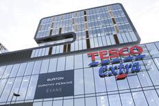 A Tesco Extra store is seen in Woolwich, southeast London, Britain February 26, 2016. REUTERS/Stefan Wermuth