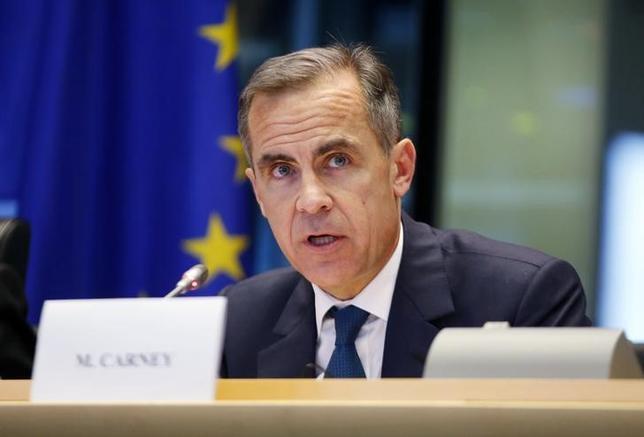 3月8日、イングランド銀行のカーニー総裁は、欧州連合残留の是非を問う国民投票を前にEUとの関係を協議したキャメロン首相の姿勢を支持することを明らかにした。写真はブリュッセルで昨年12月撮影(2016年 ロイター/Francois Lenoir)