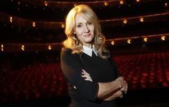 """Escritora J.K. Rowling, criadora de """"Harry Potter"""", durante evento em Nova York.   19/10/2012    REUTERS/Carlo Allegri/Files"""