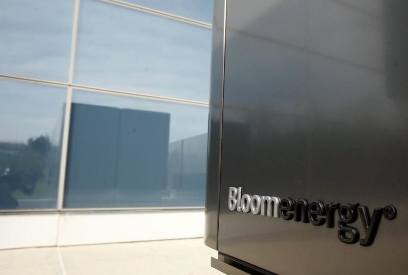 Bloom Energy Share Sale Marks Valuation Drop Of More Than 40 Percent