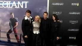 The stars of 'The Divergent Series: Allegiant' hit the red carpet in New York