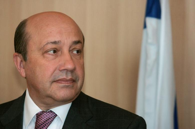 Igor Ivanov meets Israeli Foreign Minister Tzipi Livni (not pictured) in Jerusalem April 11, 2007.  REUTERS/Yonathan Weitzman