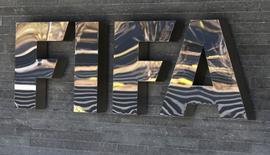 Logo da Fifa visto em Zurique.    18/03/2016      REUTERS/Ruben Sprich