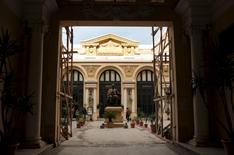 Alexandria's opera house stands in Fouad street, Egypt, January 26, 2016.  REUTERS/Asmaa Waguih