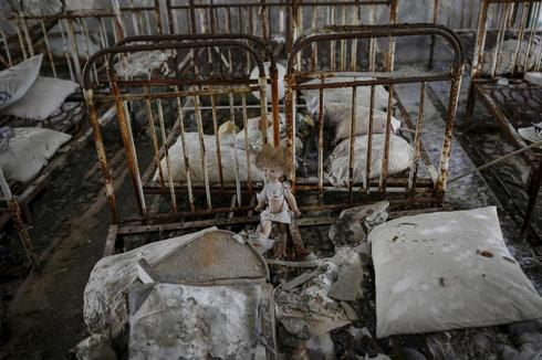 Chernobyl's ghost town