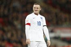 Wayne Rooney durante partida em Londres.    17/11/2015     Action Images via Reuters / Carl Recine