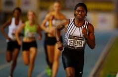 Athletics - ASA After Dark meeting Ð women's 800m run - Green Point Stadium, Cape Town, South Africa. Caster Semenya competes in this picture taken March 22, 2016. REUTERS/Mike Hutchings