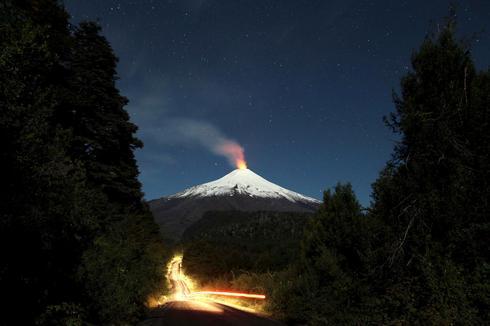 Chile's lava lake volcano