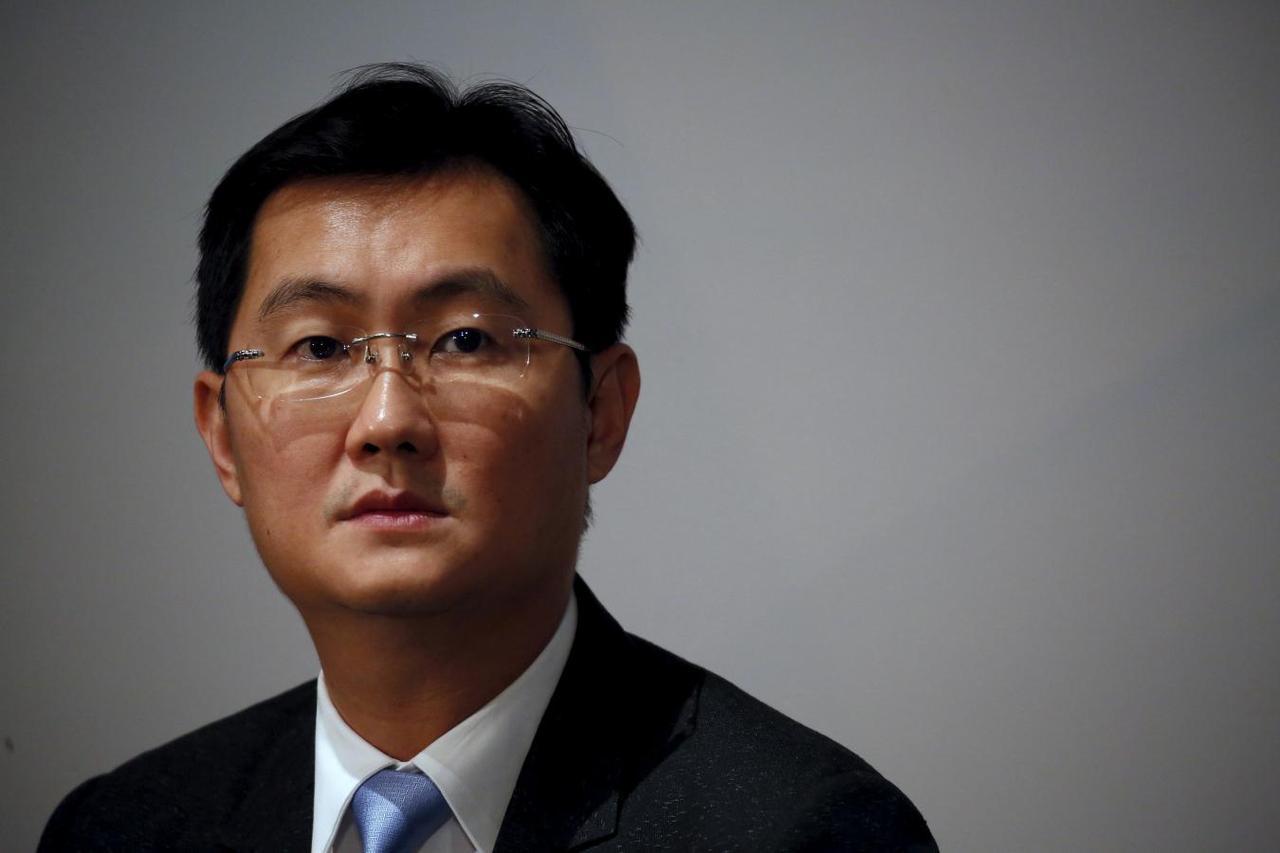 نتيجة بحث الصور عن Tencent founder