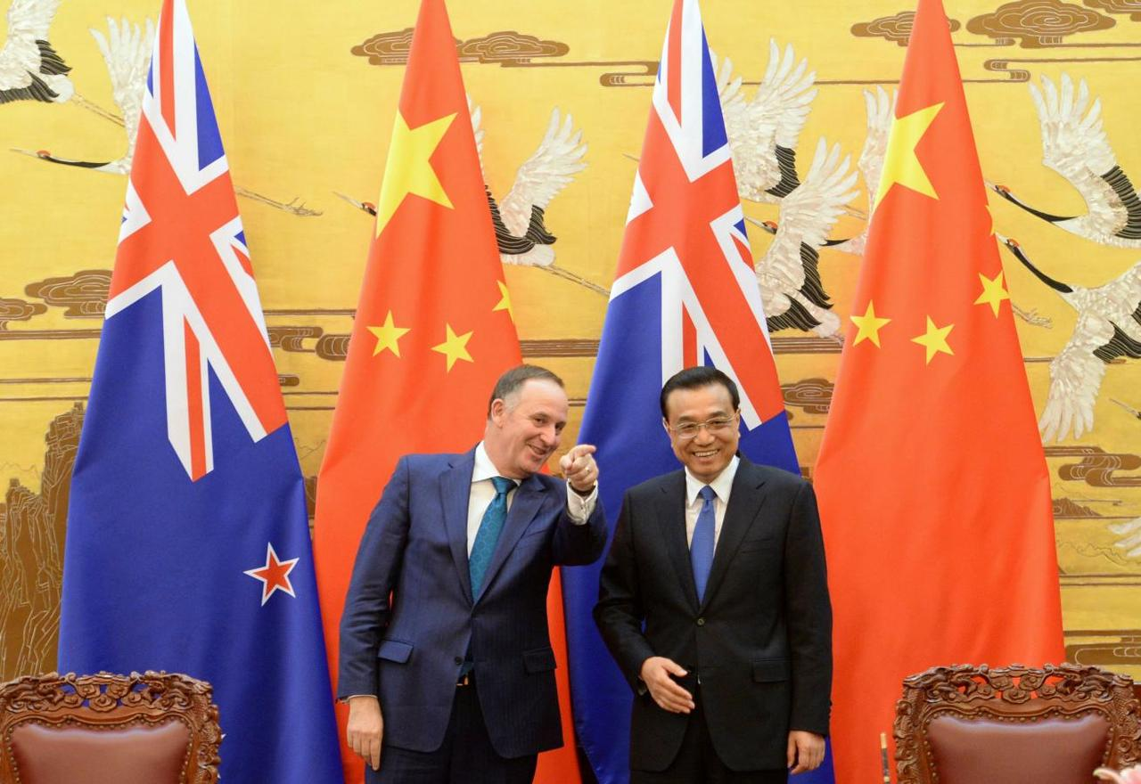 China Looks To Broaden Free Trade Agreement With New Zealand