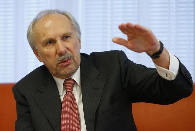 マイナス金利、デフレ回避のため必要=オーストリア中銀総裁