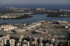 Vista aérea do Parque Olímpico, no Rio de Janeiro.   24/04/2016      REUTERS/Ricardo Moraes