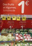 Витрина гипермаркета Carrefour в Брив-ла-Гайарде, Франция, 8 июля 2013 года. Расходы потребителей помогли подрасти ВВП Франции в I кв REUTERS/Regis Duvignau
