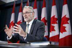 Canada's Auditor General Michael Ferguson speaks during a news conference upon the release of his report in Ottawa, Canada, February 2, 2016. REUTERS/Chris Wattie