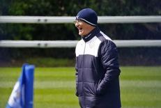 Técnico do Leicester City, Claudio Ranieri.    03/05/2016 Reuters / Darren Staples Livepic