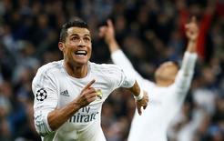 Cristiano Ronaldo durante partida do Real Madrid.   12/04/2016 Reuters / Juan Medina Livepic