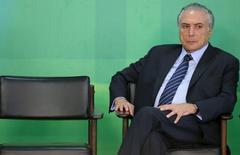 Vice-presidente Michel Temer (PMDB).     02/03/2016       REUTERS/Adriano Machado/Files