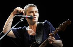 Cantora Sinead O'Connor se apresenta em festival de Salacgriva.  18/7/2009. REUTERS/Ints Kalnins