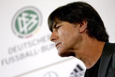 Técnico da seleção da Alemanha, Joachim Loew.     17/05/2016       REUTERS/Hannibal Hanschke
