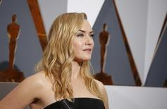 Kate Winslet posa para fotógrafos no 88º Academy Awards, em Hollywood 28/02/2016 REUTERS/Adrees Latif