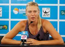 Tenista Maria Sharapova durante evento na Austrália.    01/01/2013     REUTERS/Daniel Munoz/File Photo