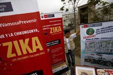 Кампания против вируса Зика и других болезней, переносимых комарами, в Перу. Тесты показывают, что штамм вируса Зика, обнаруженного на островах Кабо-Верде в Африке, аналогичен тому, что получил распространение в Бразилии и который связывают с врожденными аномалиями у новорожденных, сообщила Всемирная организация здравоохранения (ВОЗ) в пятницу. REUTERS/Mariana Bazo
