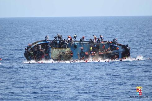The dangerous Mediterranean route