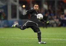 Goleiro da seleção da Costa Rica Keylor Navas durante partida do Real Madrid.    28/05/2016       Reuters/Carl Recine/Livepic