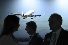 Vista de la reunión general anual de la Asociación Internacional de Transporte Aéreo (IATA por su sigla en inglés), en Dublin, Irlanda. 2 de junio de 2016. Las aerolíneas globales obtendrían este año más ganancias de lo previsto, dijo el jueves la Asociación Internacional de Transporte Aéreo (IATA por su sigla en inglés), ayudadas por los bajos precios del petróleo y el trabajo de las compañías para llenar los vuelos e impulsar los ingresos complementarios. REUTERS/Clodagh Kilcoyne