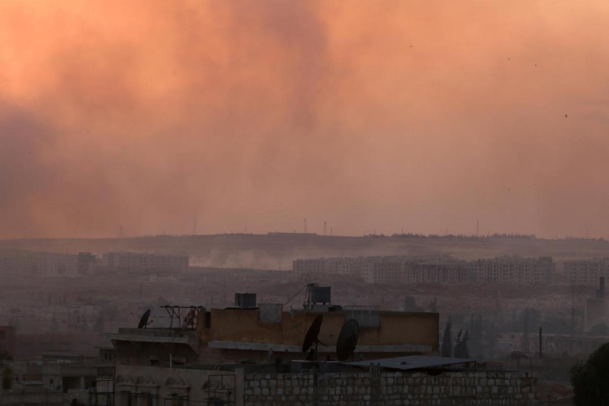 Russia says 'terrorists' near Aleppo get reinforcements from Turkey - RIA