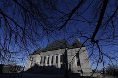 A view shows the Supreme Court of Canada in Ottawa April 24, 2014. REUTERS/Chris Wattie