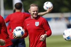England's Wayne Rooney during training  REUTERS/Lee Smith