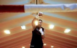 Boxing - Wladimir Klitschko training - Going, Austria - 23/6/16 - Wladimir Klitschko attends a training session REUTERS/Dominic Ebenbichler