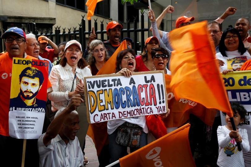 venezuela hold the democracy essay How to build an autocracy but it's already difficult to hold a president to account for venezuela, a stable democracy from the late 1950s.