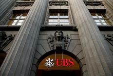 Le Parquet national financier a requis le renvoi en correctionnelle de la banque suisse UBS pour démarchage illicite et blanchiment aggravé de fraude fiscale, /Photo d'archives/REUTERS/Arnd Wiegmann