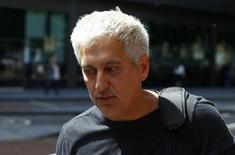 Former Barclays trader Jay Merchant arrives for sentencing at Southwark Crown Court in London, Britain July 7, 2016. REUTERS/Neil Hall