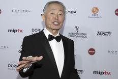 Actor George Takei attends the International Emmy Awards in Manhattan, New York November 23, 2015. REUTERS/Andrew Kelly