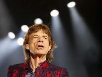 "Mick Jagger of The Rolling Stones performs during their ""Latin America Ole Tour"" at the Foro Sol in Mexico City, Mexico March 14, 2016. REUTERS/Henry Romero"