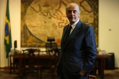 Serra, no Itamaraty 14/7/2016. REUTERS/Adriano Machado