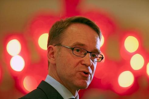 ECB may review conditions for bond purchases after break, Weidmann says