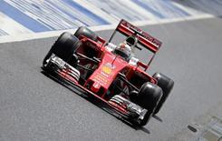Britain Formula One - F1 - British Grand Prix 2016 - Silverstone, England - 10/7/16 Ferrari's Sebastian Vettel during the race REUTERS/Matthew Childs Livepic