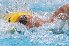 Australia's Cameron Mcevoy swims in a men's 100m freestyle heat at the Aquatics World Championships in Kazan, Russia, August 5, 2015.  REUTERS/Stefan Wermuth/File photo