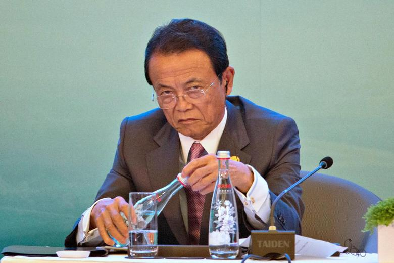 view download images  Images              Japan Finance Minister Aso: Closely watching China's economy, falling yuan | Reuters