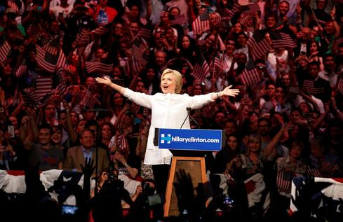 Clinton's ascent to the nomination